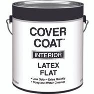 Valspar 256 Cover Coat Contractor Interior Flat Antique White Gallon