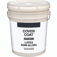 Valspar 456 Cover Coat Contractor Interior Semi-Gloss Antique White 5 Gallon