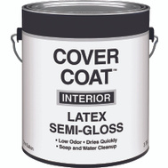 Valspar 457 Cover Coat Contractor Interior Semi Gloss Dover Gallon