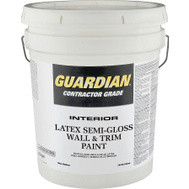 Valspar 457 Cover Coat Contractor Interior Semi-Gloss Dover 5 Gallon