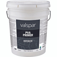 Valspar 11288 Professional Primer Interior Latex White Pro PVA 5 Gallon