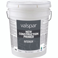 Valspar 11287 Professional Primer Interior Latex White 5 Gallon