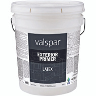 Valspar 11298 Professional Primer Exterior Latex White Pro 5 Gallon