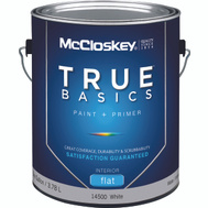 McClosky Valspar 14500 Paint Interior Flat White Gallon