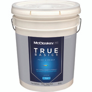 McClosky Valspar 14501 Paint Interior Latex Flat Pastel Base 5 Gallon