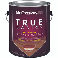 McClosky Valspar 14203 Stain Solid Latex Redwood Gallon