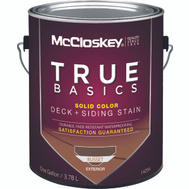 McClosky Valspar 14204 Stain Solid Latex Russet Gallon