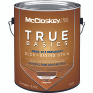 McCloskey 14304 Stain Semi-Transparent Latex Russet