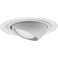 Cooper Lighting 998P Halo White Eyeball 30 Tilt Trim