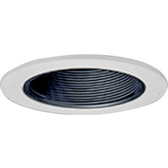 Cooper Lighting 993P Halo 4 Inch Coilex White Baffle Trim