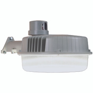Cooper Lighting AL3150LPCGY All Pro LED Area And Wall Light With Dusk-To-Dawn Photo Control Gray