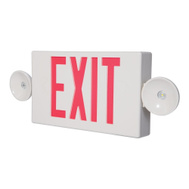 Cooper Lighting LPXC25 Sure-Lites LED Exit And Emergency Combination Sign