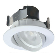 Cooper Lighting RA406930WHR Led Retro Gimbal 4In Tilt