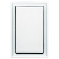 Builders Edge 130020001001 Mounting Block Jumbo White