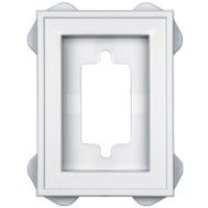 Builders Edge 130030002001 Mounting Block Mini Recessed