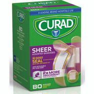Medline CUR45243RB Curad Bandage Sheer Asstd Sizes