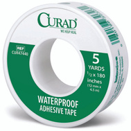Medline CUR47440RB Curad Tape Waterproof 1/2 Inch By 5 Yards