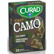 Medline CUR45701RB Curad Bandage Camouflage Green 25Ct