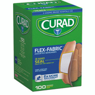 Medline CUR0700RB Curad Bandage Asstd Flex Ster 100Ct