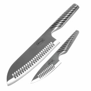E Mishan 1139 Knife Set Carbon Stnls Stl 2Pk