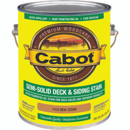 Cabot 1416 Stain Semi Solid Oil Exterior Cedar Gallon