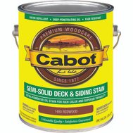 Cabot 1480 Stain Semi Solid Oil Exterior Redwood Gallon