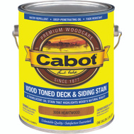 Cabot Valspar 3004 Finish Wood Oil Exterior Heartwood Gallon