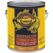 Cabot Valspar 3458 Oil Australian Timber Honey Teak Gallon