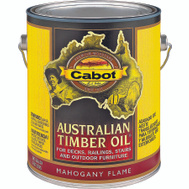 Cabot 3459 Oil Australian Timber Mahogany Flame Gallon