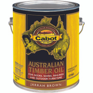 Cabot Valspar 3460 Oil Australian Timber Jarrah Brown Gallon