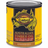 Cabot Valspar 3457 Oil Australian Timber Amber Wood Quart