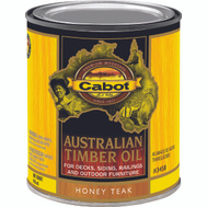 Cabot 3458 Oil Australian Timber Honey Teak Quart