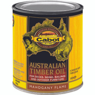 Cabot Valspar 3459 Oil Australian Timber Mahogany Flame Quart