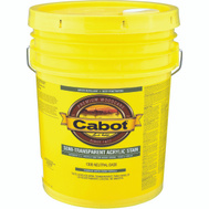 Cabot 1306-08 5GAL NTRL EXT WB Stain