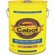 Cabot Valspar 3000 5 Gallon Oil Natural