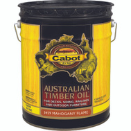 Cabot Valspar 3459 Oil Australian Timber Mahogany Flame 5 Gallon