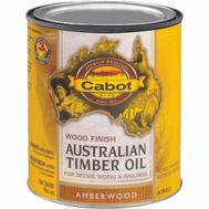 Cabot Valspar 19457 Oil Australian Timber VOC Amber Wood Quart