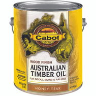 Cabot Valspar 19458 Oil Australian Timber VOC Honey Teak Gallon