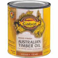 Cabot Valspar 19458 Oil Australian Timber VOC Honey Teak Quart