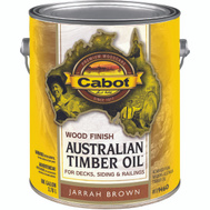 Cabot Valspar 19460 Oil Australian Timber VOC Jarrah Brown Gallon