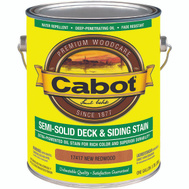 Cabot Valspar 17417 Gallon Red Semi Solid Deck Stain