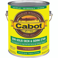 Cabot Valspar 17480 Gallon Red Semi Solid Deck Stain