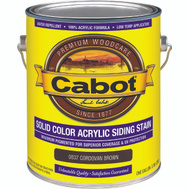 Cabot 0837 Pro V T Stain Siding Acrylic Cord Brown