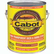 Cabot Valspar 0380 Stain Deck Oil Redwood
