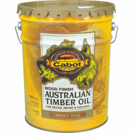 Cabot Valspar 19458 5 Gallon Honey Teak Australian Timber Oil