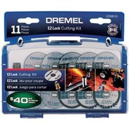 Dremel EZ688-01 Ez Lock Cutting Kit Mini Mtl/Plst 11Pc