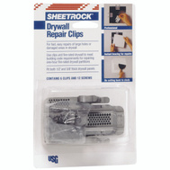 US Gypsum 380161048 Sheetrock Drywall Clip Repair
