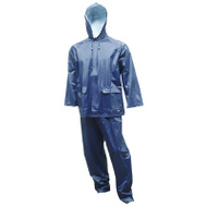 Tingley Rubber S62211.2X 2PC 2XL Navy Rain Suit