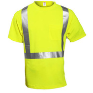 Tingley Rubber S75022.XL XL Lime Class II Shirt
