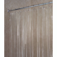 InterDesign 14551 Shower Curtain-Liner Clr Vnyl